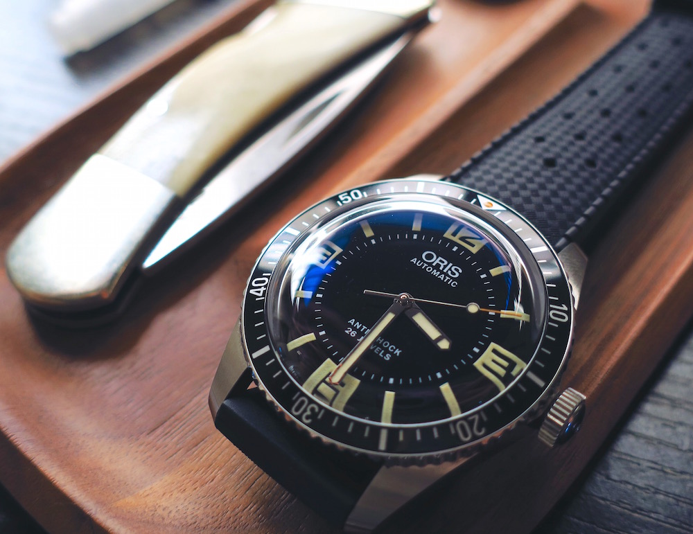 ee1bd94ca57 Best Replica Oris Divers Sixty-Five Topper Edition Watches Review ...