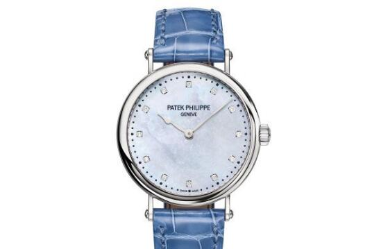 The integrated design of the Patek Philippe is simplicity and elegance, setting off the ladies to be more charming.
