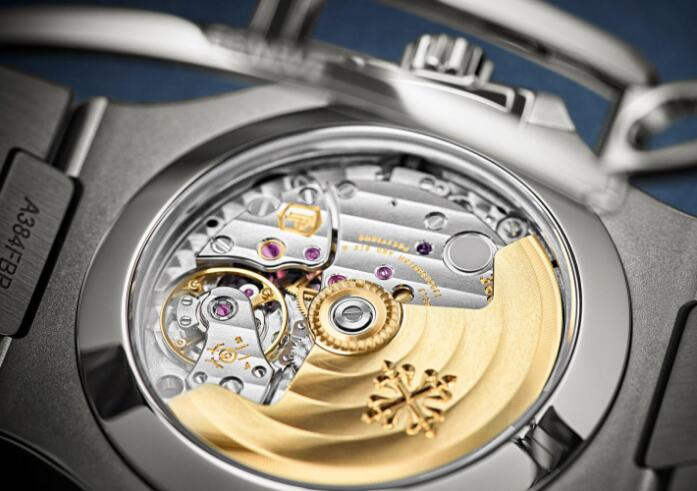 The movement could be viewed through the transparent caseback.