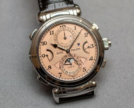 The Patek Philippe has combined multiple complicated functions.