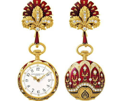 These special decorative watches were very popular in early days.